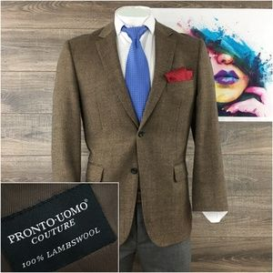 Pronto Uomo Mens Blazer Sport Coat 2 Button